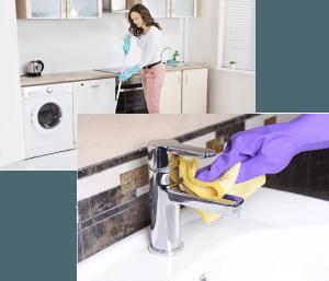 Profesionales de limpieza en Valladolid. Servicios de limpieza general del hogar, limpieza de cristales, limpieza después de una obra o limpieza de una vivienda alquilada.