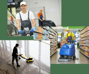 Profesionales de limpieza en Valladolid. Servicios de limpieza, pulido y abrillantado de suelos.