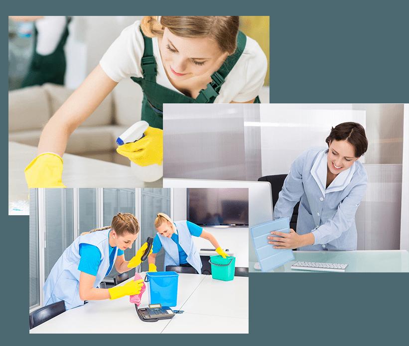 Profesionales de limpieza en Valladolid. Servicios de limpieza a empresas y negocios como oficinas, locales comerciales, almacenes, fábricas o cualquier instalación