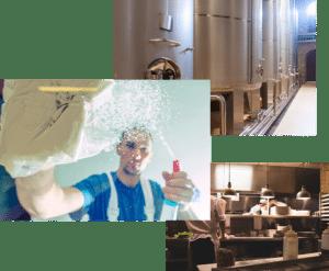 Servicios de limpieza y desinfección para la industria alimentaria
